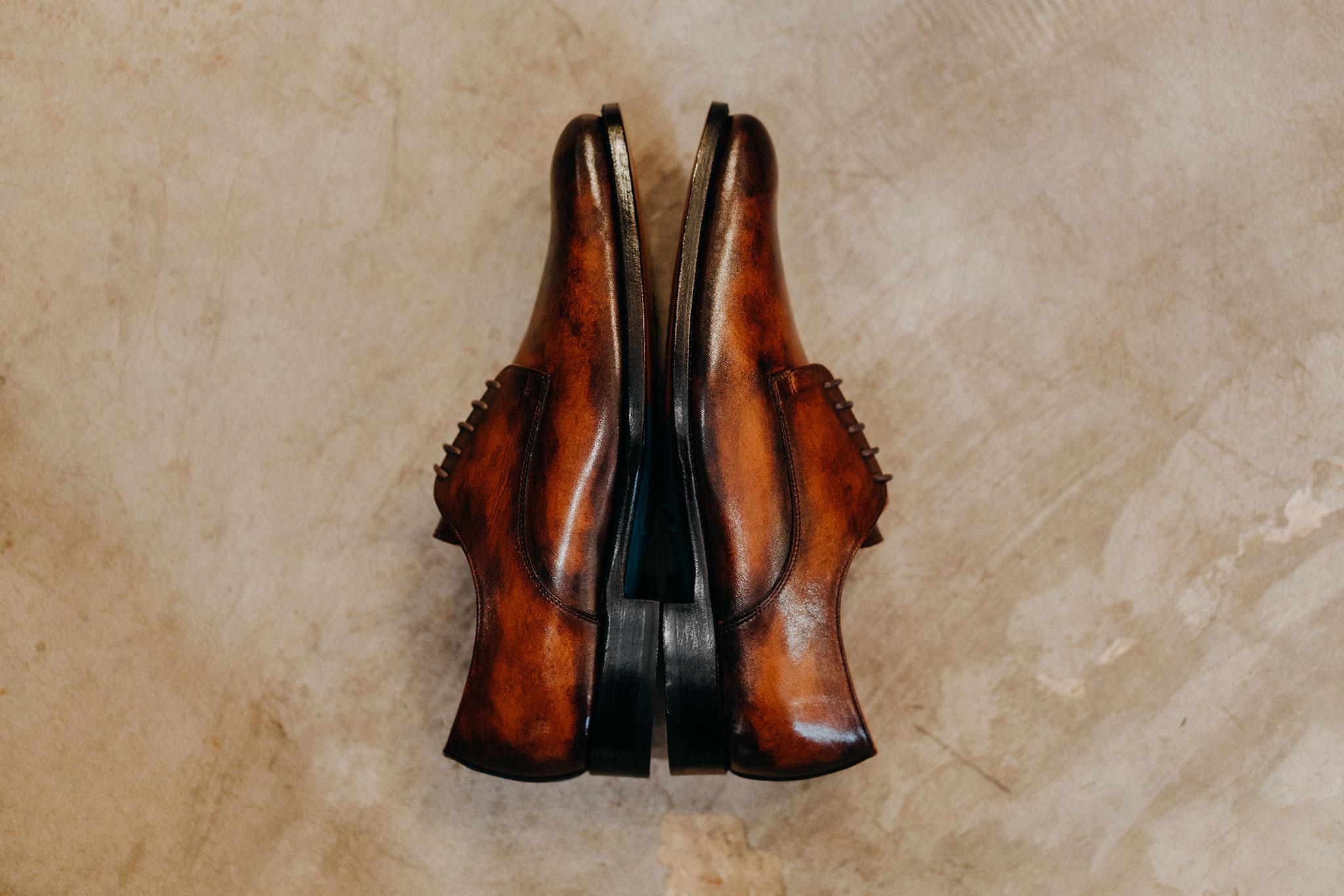 Giày da bò nam dalot 2