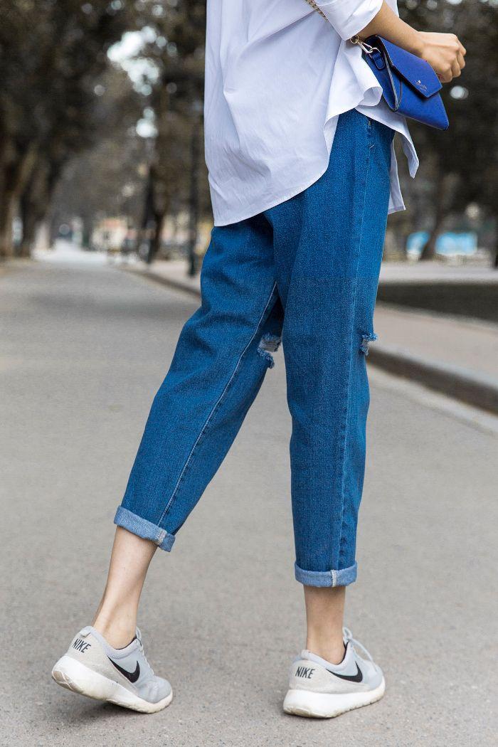 Xonxen shop cũng là shop quần Jean nữ được các cô gái trẻ Hà Thành thường xuyên ghé thăm