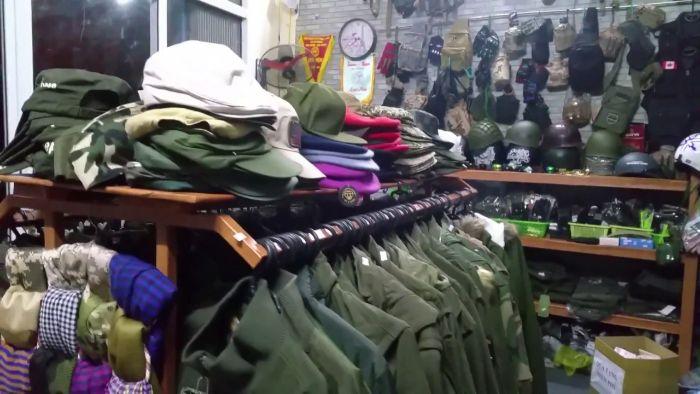 Một trong những điểm bán đồ lính tốt nhất không thể bỏ qua đó là Armyhaus