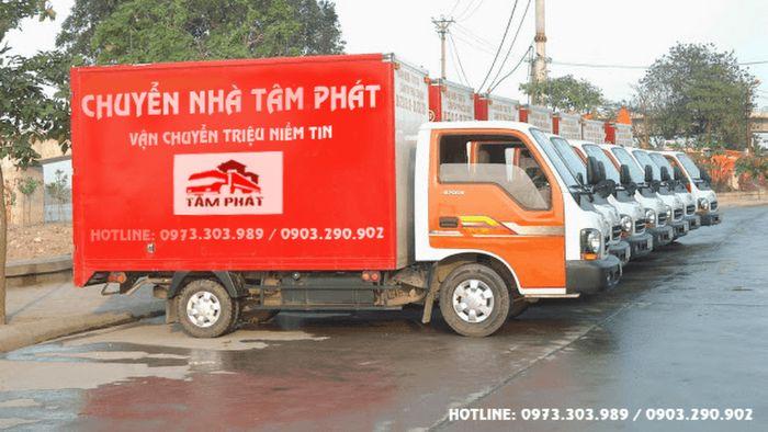 Công ty Cổ phần Dịch vụ Vận tải Tâm Phát chuyên cung cấp dịch vụ chuyển nhà, chuyển văn phòng trọn gói ở Hà Nội