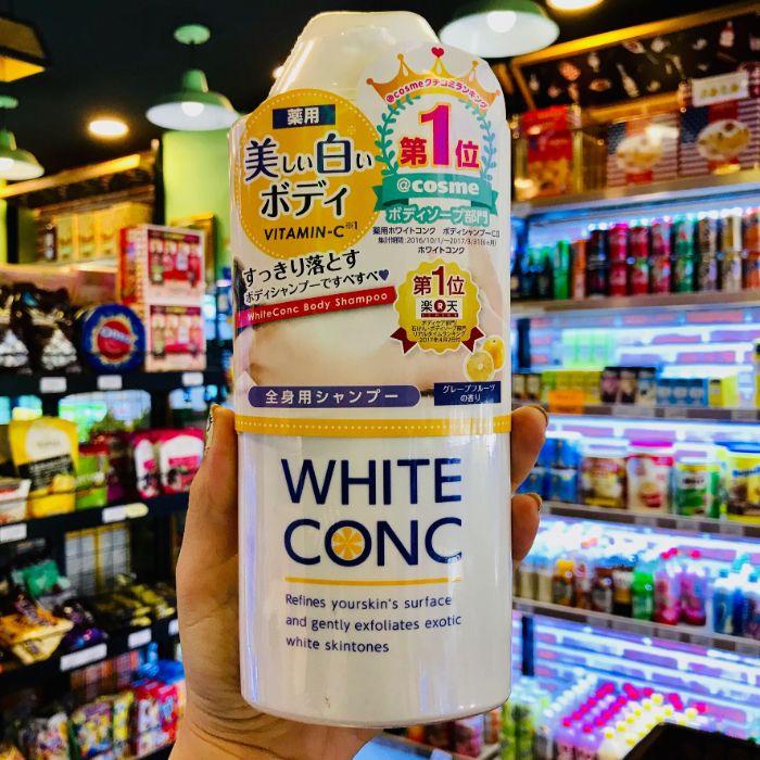 White Conc được một trang web mỹ phẩm nổi tiếng của Nhật Bản