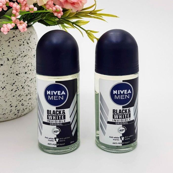 Lăn khử mùi nam Nivea Men Invisible For Black  White là sản phẩm của hãng Nivea nổi tiếng