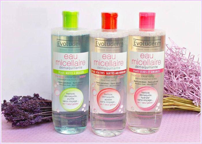 Evoluderm đã cho ra mắt rất nhiều dòng sản phẩm tẩy trang cho mình từ dạng dầu đến dạng Cream