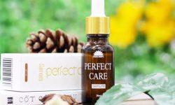 Serum ốc sên Perfect Care được chiết xuất từ dịch ốc sên nên có tác dụng tái tạo, phục hồi hư tổn da vào ban đêm