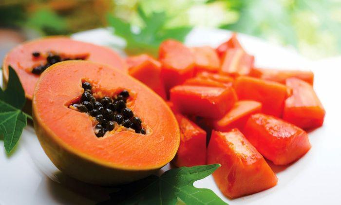 Chiết xuất từ trái đu đủ được sử dụng rộng rãi trong ngành công nghiệp mỹ phẩm