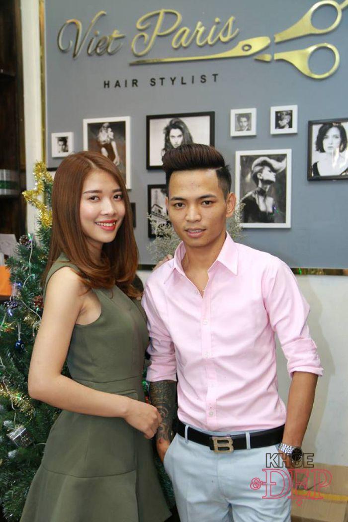 Một trong 8 salon tóc nữ nổi tiếng ở Đà Nẵng không thể không nhắc đến đó là Việt Paris Hair Salon