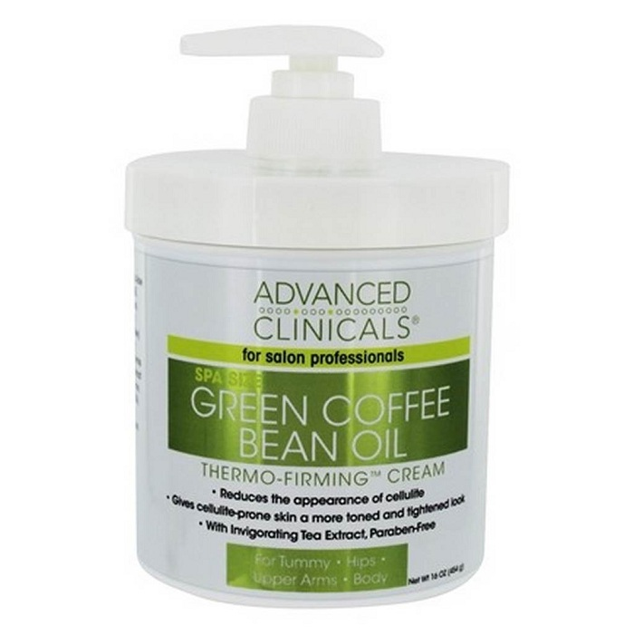 Kem tan mỡ bụng của Mỹ Green Coffee Bean Extract Firming Cream
