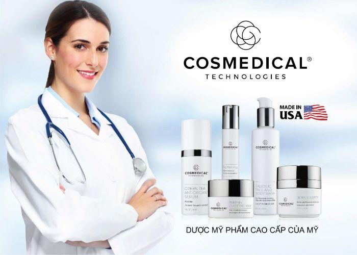 Thương hiệu Cosmedical có đa dạng các sản phẩm chăm sóc da