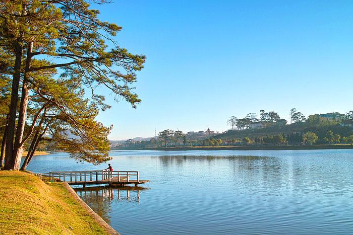 Hồ Xuân Hương được mệnh danh là trái tim của thành phố Đà Lạt thơ mộng