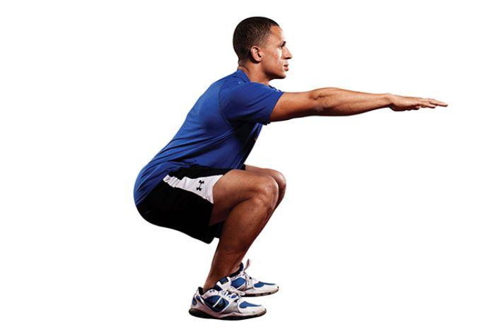 Bài tập này dễ thực hiện nhưng mang lại hiệu quả tốt, giúp cơ đùi săn chắc, làm thon gọn đùi nhanh chóng