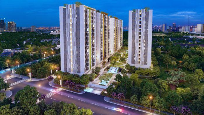 Dự án chung cư Him Lam Phú An được bao bọc bởi khu dân cư sầm uất tại TP Hồ Chí Minh