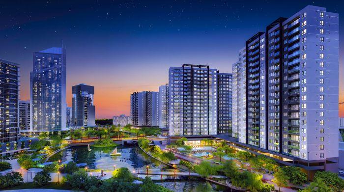 Dự án chung cư Mizuki Park có thiết kế đẳng cấp cùng những tiện nghi hiện đại