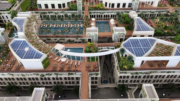 D-One Sài Gòn là dự án khu phức hợp căn hộ  Shophouse thương mại giải trí kiểu mới