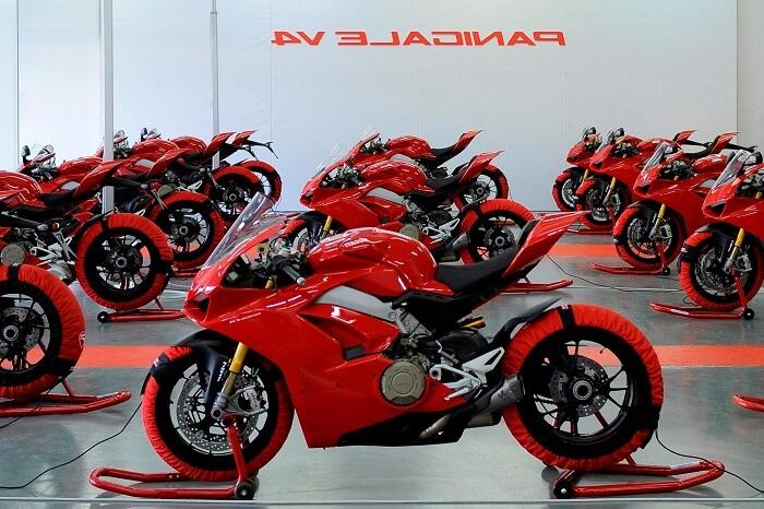 Ducati là một hãng xe nổi tiếng của tại Ý