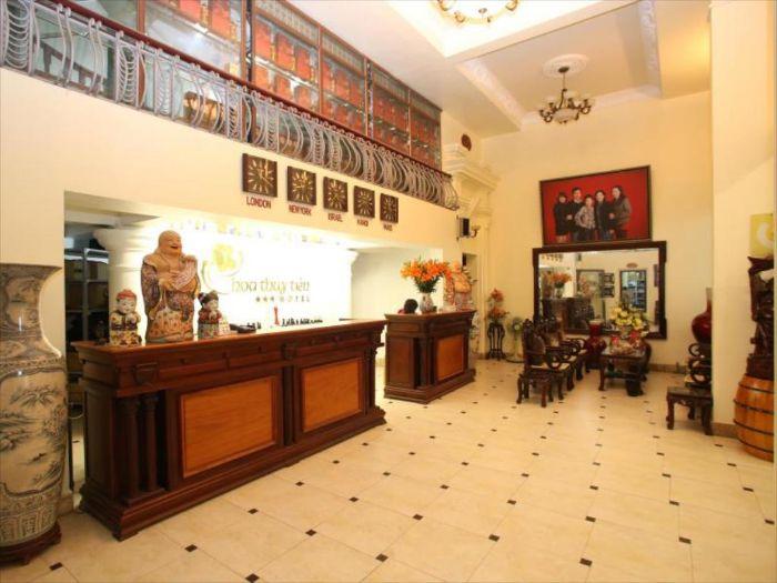 Hoa Thủy Tiên Hotel nằm tại số 11/1 Trần Quốc Toản, P. Điện Biên, Thanh Hóa
