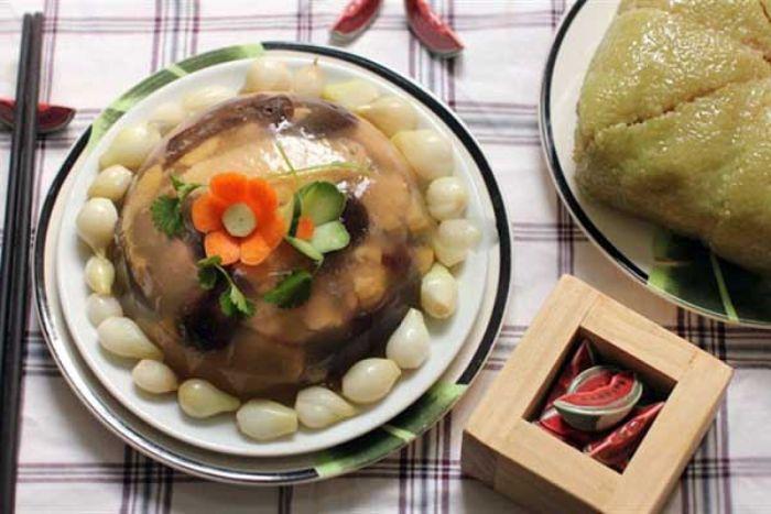 Món thịt đông là món ăn truyền thống, độc đáo và tinh túy của người Việt