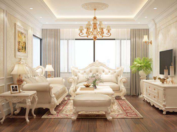 Thiết kế nội thất mang phong cách tân cổ điển được lấy cảm hứng từ kiến trúc Hy Lạp và La Mã