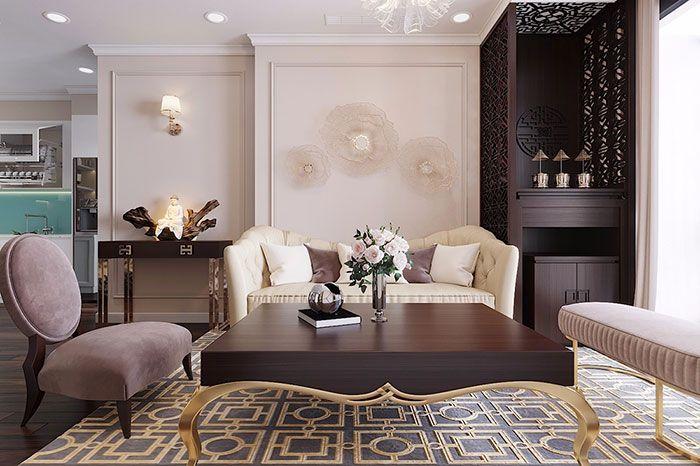Phong cách Rococo là chủ đề yêu quý của tầng lớp quý tộc Pháp