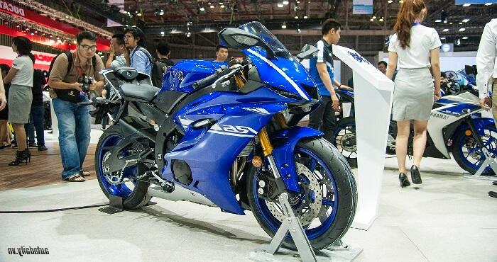Yamaha chuyên sản xuất các loại xe phân khối lớn như xe thể thao