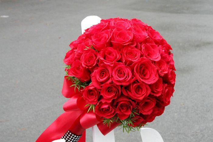 Hoa hồng đỏ dành tặng sinh nhật người yêu, vợ