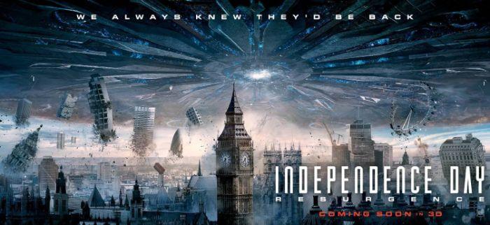 Independence Day - Bộ phim mang lại doanh thu khủng, xếp thứ hai trong doanh thu phim toàn thế giới vào lúc bấy giờ
