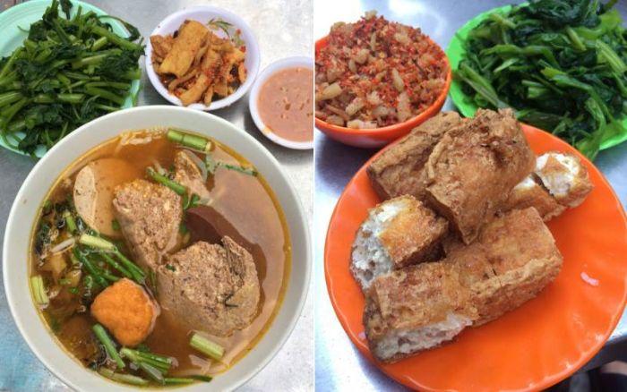 Bún riêu cô Phượng - Quán ăn ngon và nổi tiếng ở Phan Rang - Ninh Thuận