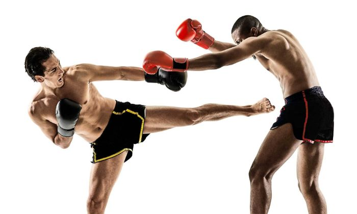 Môn võ kickboxing mạnh mẽ, thể hiện sự linh hoạt