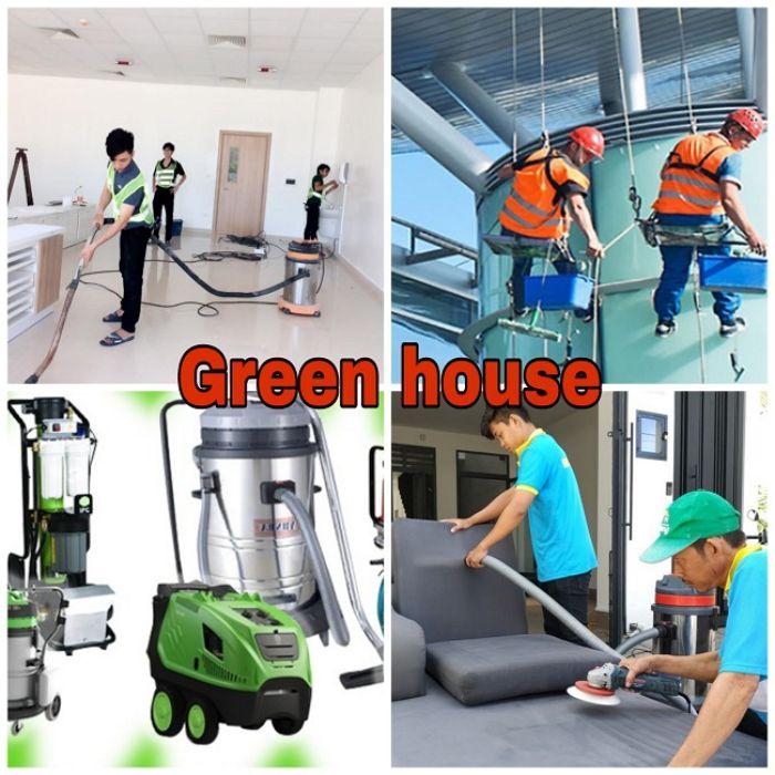Green House là một trong 8 công ty vệ sinh công nghiệp uy tín