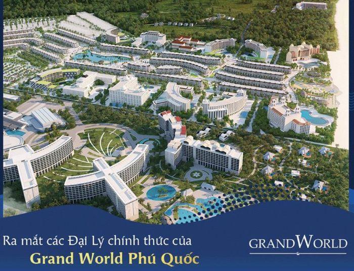 Grand World tọa lạc tại Bãi Dài có tổng diện tích hơn 85ha