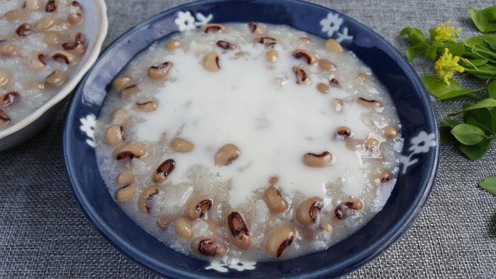 Chè đậu trắng ngon, béo ngậy thể hiện tinh túy ẩm thực Việt Nam