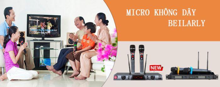 Micro Không Dây Beilarly U88 là sản phẩm được đánh giá rất cao