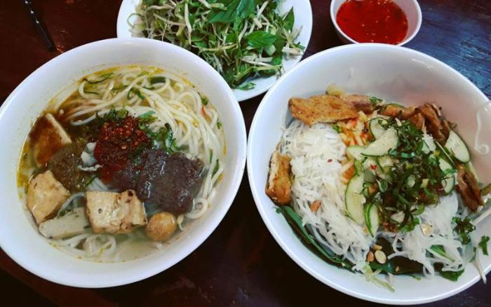 Quán ăn chay bồ đề nổi tiếng với các món ăn chay
