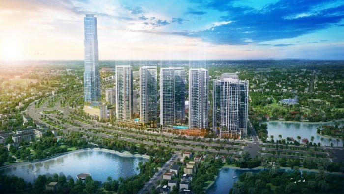Dự án Eco Green Sài Gòn được xây dựng tại quận 7