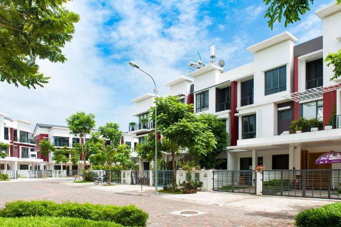 Gamuda Gardens được xây thành 7 tòa căn hộ