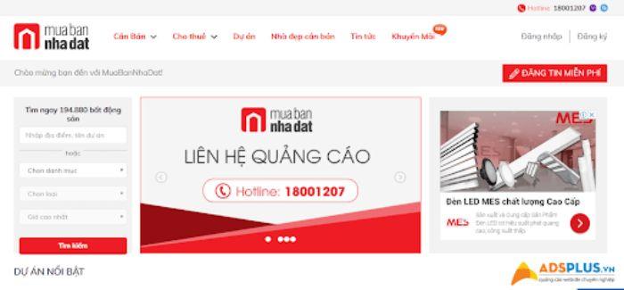 Muabannhadat.com.vn là một trong các trang web uy tín