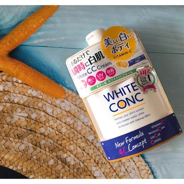 Sữa dưỡng thể trắng da white conc vitamin c