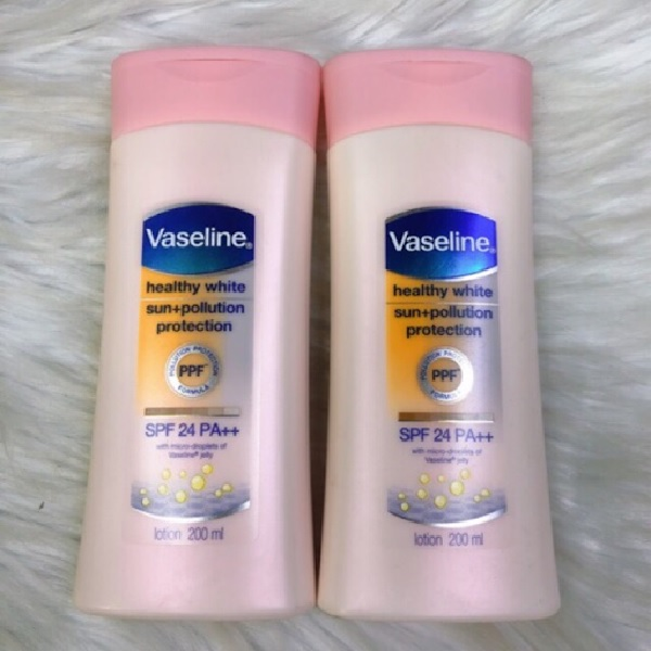 Vaseline Healthy White SPF 24 PA++ với nhiều công dụng nổi bật