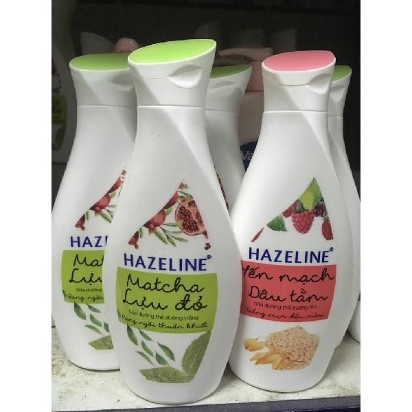 Hazeline Matcha Lựu đỏ và Hazeline Yến mạch Dâu tằm là 2 sản phẩm đang rất được ưa chuộng