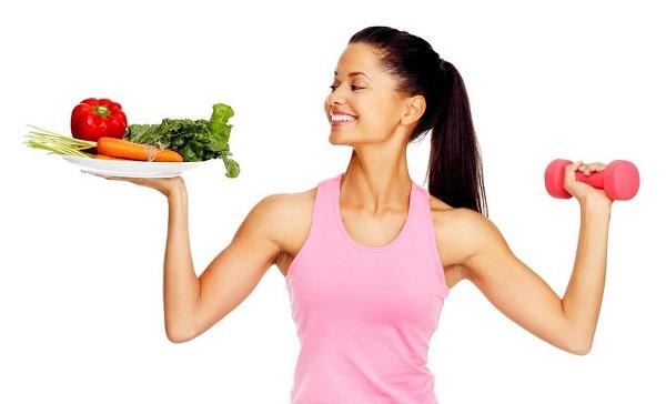 Luyện tập thể dục và ăn uống khoa học