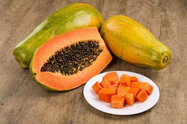 Đu đủ giúp tăng cường vitamin C