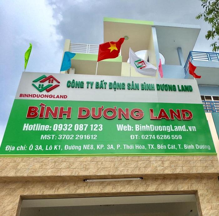Công Ty BDS Bình Dương Land