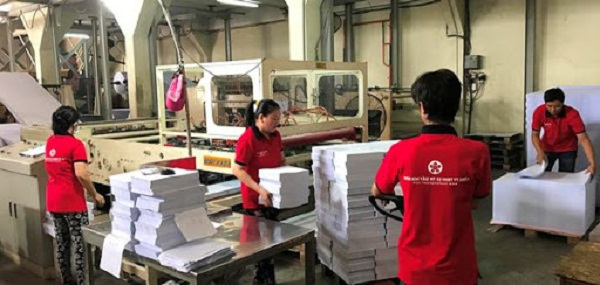 công ty sản xuất giấy tại hồ chí minh