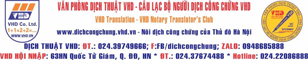 Công Ty TNHH Dịch Thuật Và TM Thăng Long