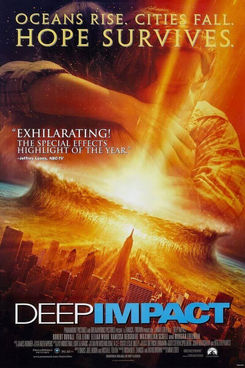 Thảm họa hủy diệt là một bộ phim điện ảnh gây cấn, sự va chạm mảnh thiên thạch lớn xuống hành tinh xanh của chúng ta