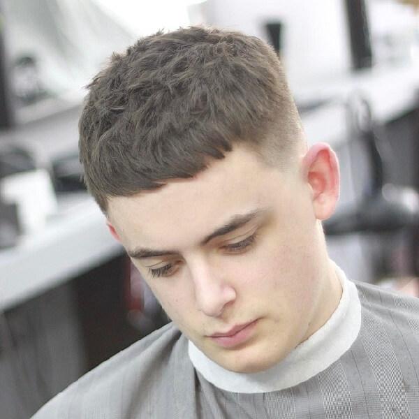 Kiểu tóc cho mặt dài nam