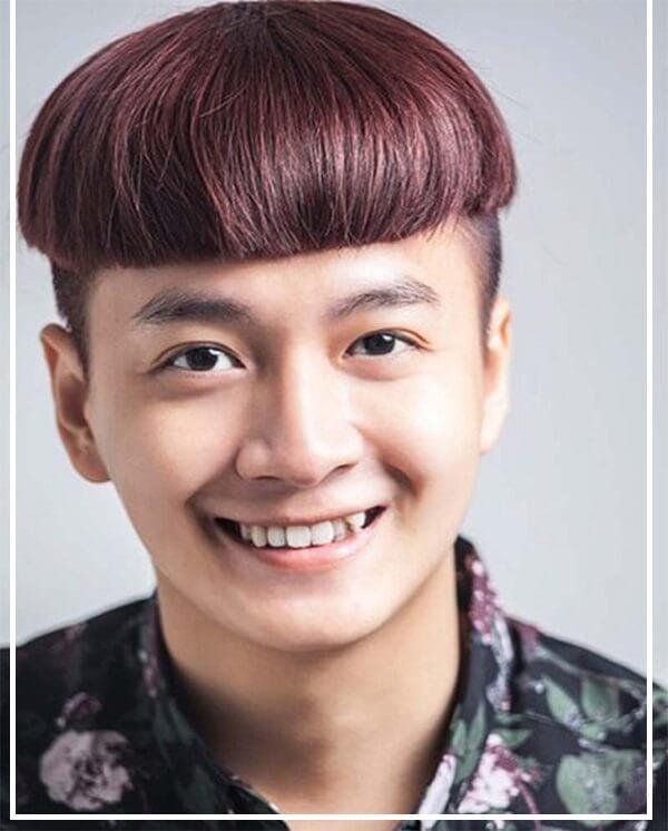 kiểu tóc nam phù hợp với khuôn mặt tròn