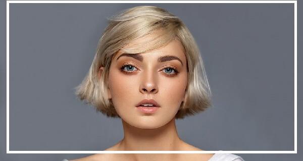 kiểu tóc ngắn cho mặt tròn