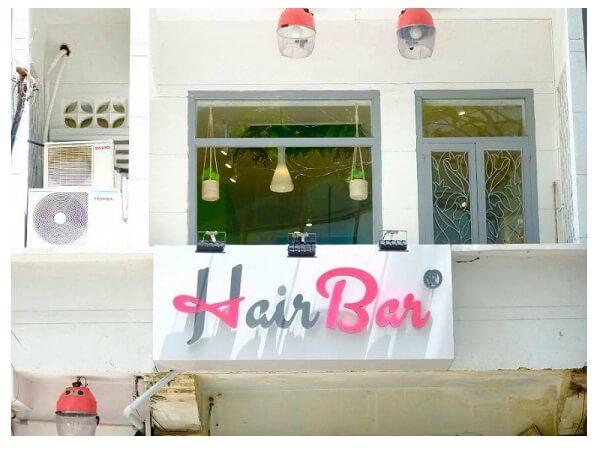 Tiệm cắt tóc nữ đẹp ở Sài Gòn
