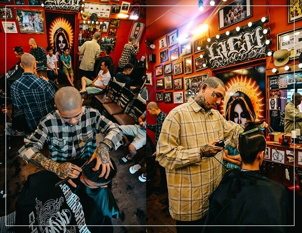 Tiệm tóc nam đẹp ở Sài Gòn