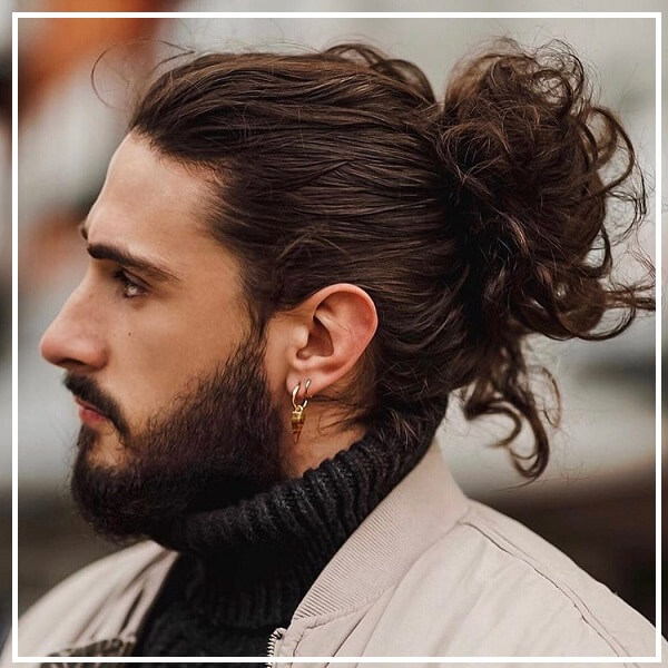 tóc buộc nam